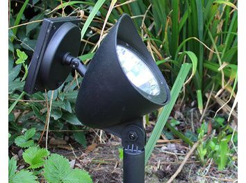 Balise solaire Waly - LED Blanche - 12 lumens